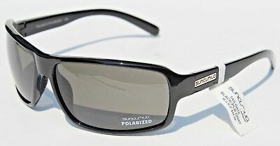 4f5e83cd3d SUNCLOUD TAILGATE POLARIZED Sunglasses Black Gray NEW Smith Sport ...