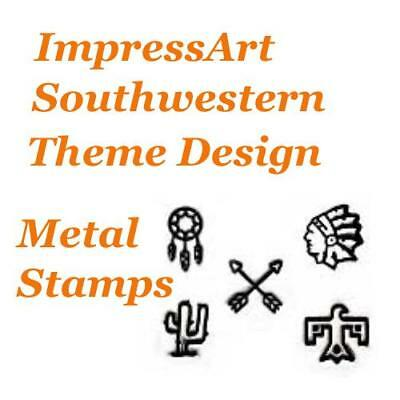 ImpressArt South Western Theme Metal Stamp Punches Stamping Tools Choose Design