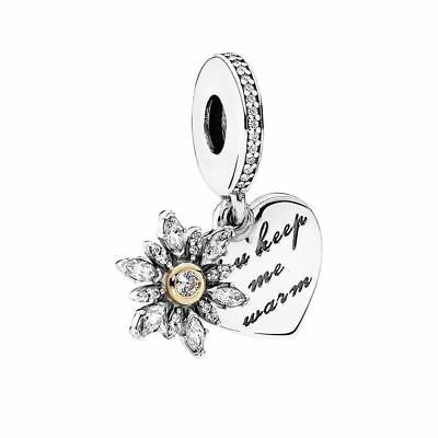 5c4b6e6ec ... purchase new genuine pandora charm 2 tone snowflake heart charm 14k  792012cz edf9e a4641 ...