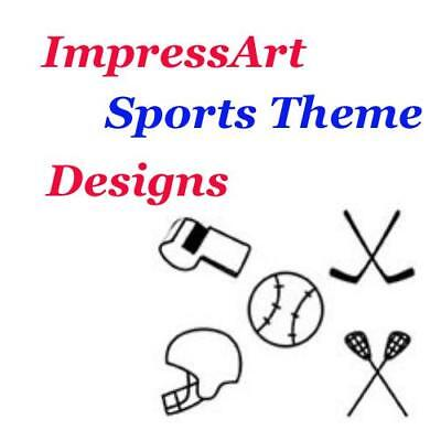 ImpressArt Sports & Great Outdoors Metal Stamp Punches Stamping Tools Designs