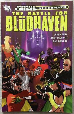 Battle for Bludhaven TPB (DC 2007) Infinite crisis aftermath. FN/VF 1st printing