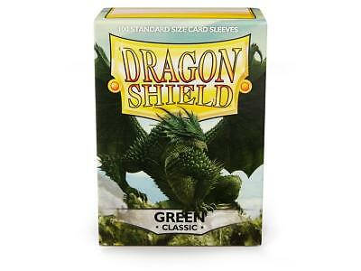 Classic Green 100 ct Dragon Shield Sleeves - FREE SHIPPING! 5% OFF 2+
