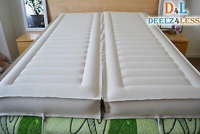 Used 2 Select Comfort Sleep Number Air Bed Chamber & Zipper E King Size Mattress