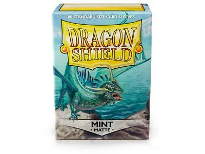 Mint Matte 100 ct Dragon Shield Sleeves Standard Size FREE SHIPPING! 5% OFF 2+