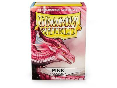 Pink Classic 100 ct Dragon Shield Sleeves Standard Size FREE SHIPPING! 5% OFF 2+