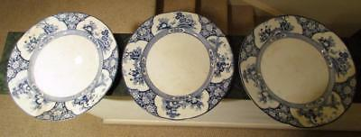 3 Booths MING Dinner Plates 10 1/8""