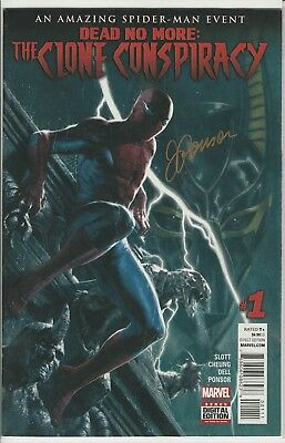 Amazing Spider-Man: Clone Conspiracy #1~Signed by Justin Ponsor~NM~COA~ Charity
