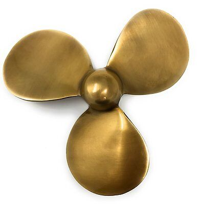 Madison Bay Company Antiqued Brass Nautical Propeller Paperweight, 4.5 Inches...