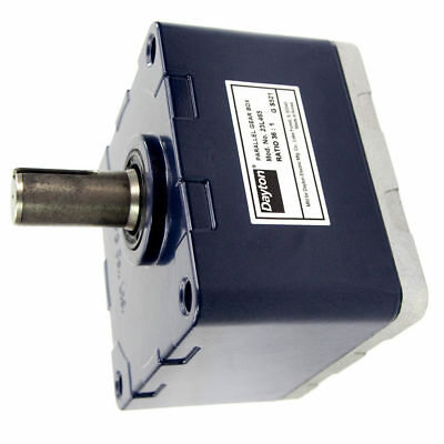 Continuous Speed Reducer - Parallel Gear Box | 36:1 Ratio | 50 RPM Output