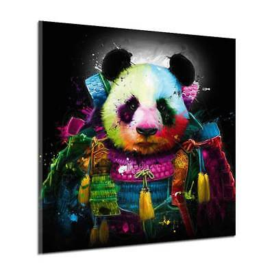 Modern Huge Wall Art Oil Painting On Canvas Animal Panda Unframed Room Decor