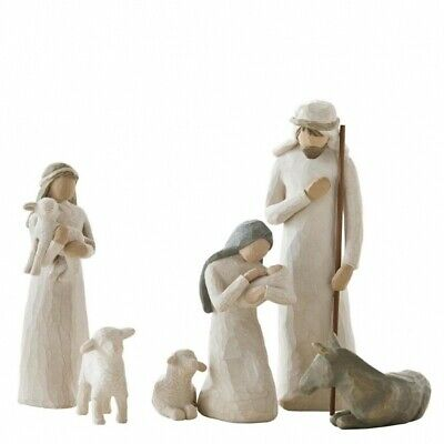 Willow Tree Christmas Nativity Collection 6 Piece Nativity 26005 Authentic