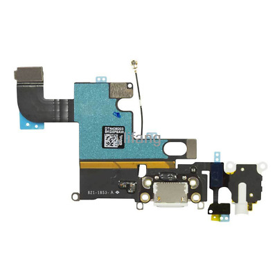 sports shoes 64641 88a45 WHITE ADHESIVE REPLACEMENT Part Dock Connector Charging Port Assembly  iPhone 6