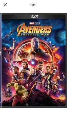 Marvel Avengers: Infinity War DVD 2018 (Fast Free Shipping)