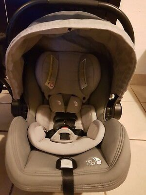 City Go Car Seat & Graco SnugRider Elite Frame Stroller