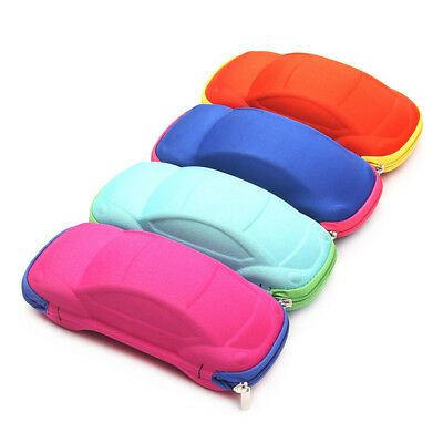 Cute Kids Car Sunglasses Cases Child Glasses Carry Hard Zipper Box Travel Case