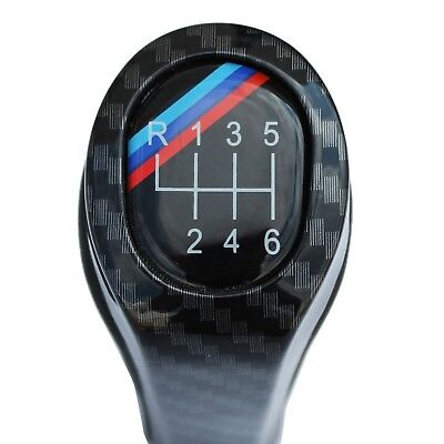 Pomello Cambio Bmw Serie 1 3 E87 E82 E90 E91 E92 X1 X3 X5 X6 6 Marce Carbon Look