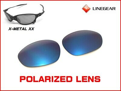 4a0812712d1 LINEGEAR LENS FOR Oakley X-Metal Madman - Cardinal Red Polarized  MM ...