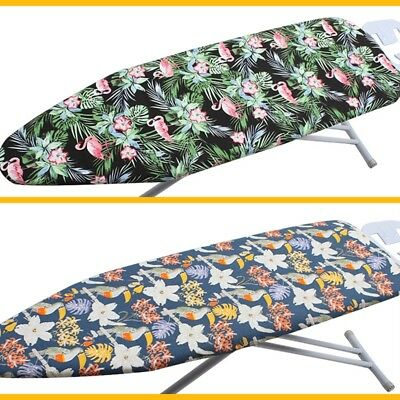 Padded Ironing Board Cover Ultra Thick Cotton Easy Fitted Heat Retaining 140x50