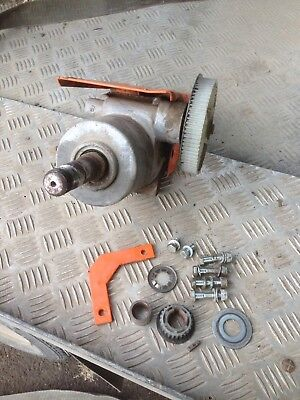 Belle Minimix 150 Gearbox And Brackets For Honda Gx120 4hp