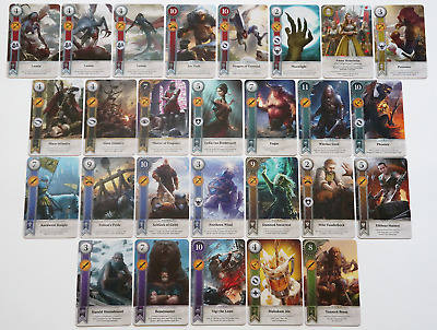 GWINT/GWENT style CARDS (27 ADD CARDS) Witcher 3 Wild Hunt (ENG EDITION)15TH EXP