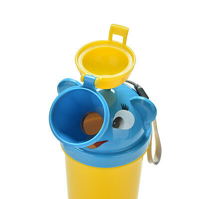 Cute Baby Portable Urinal Travel Car Toilet Kids Vehicular Potty For Boy 、Pop