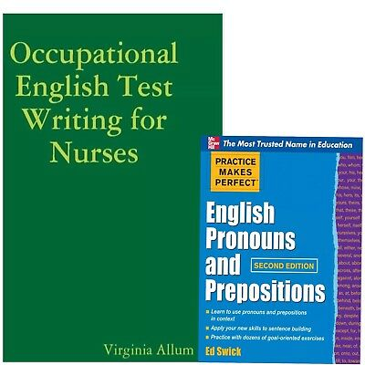 OET 2.0 Two for One  Nursing Writing+ English Pronouns and Prepositions-PDF