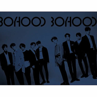 UNB [BOYHOOD] 1st Mini Album CD+POSTER+FotoBuch+2p Karte+Aufkleber K-POP SEALED