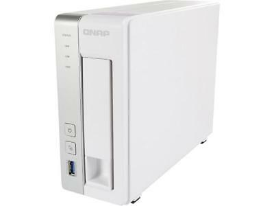 QNAP TS-131P 1-bay Personal Cloud NAS with DLNA, Mobile Apps and AirPlay Support
