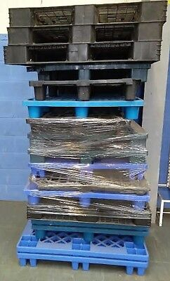 14 Assorted Plastic Pallets