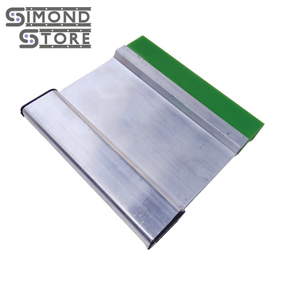 "4"" Screen Printing Squeegee with Aluminum Handle & 70 Durometer Blade"