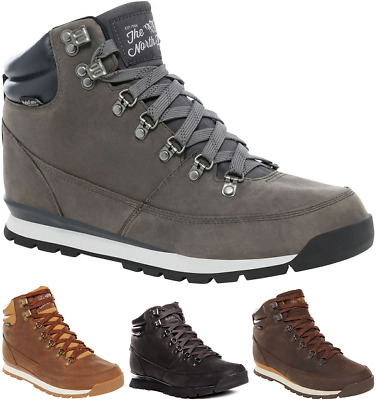 a0e49356b6 THE NORTH FACE Back-To-Berkeley Leather Sneakers Chaussures Bottes pour  Hommes