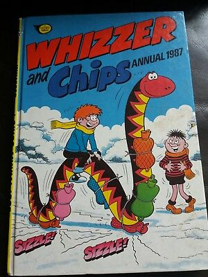 Whizzer And Chips Annual 1987 unclipped