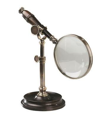 Authentic Models Magnifying Glass with Stand, Bronzed - Vergrößerungsglas