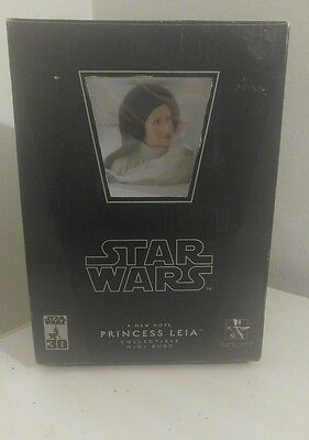 Star Wars A New Hope PRINCESS LEIA mini bust~ANH~statue~ Fisher~Gentle Giant~NIB