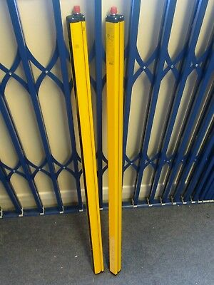 Pair of Pilz Type 4 Safety Curtain