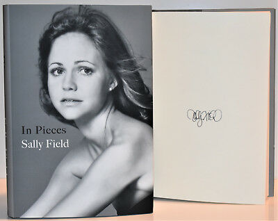 In Pieces SIGNED / AUTOGRAPHED by Sally Field  +COA Memoir  D