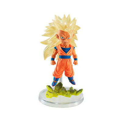 Dragon Ball Z Goku Ss3 Special Color Gashapon Ultimate Grade The Best 01 Bandai