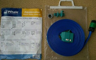 Caravan Truma Crystal Mains Water Hose/Hookup in SS17 Hill for £15.00 - Food grade hose with reducing valve and adaptor.