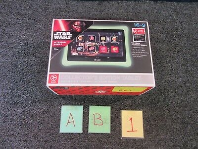 Disney Nabi Star Wars Accessory Bundle The Force Tablet Collector's Edition New