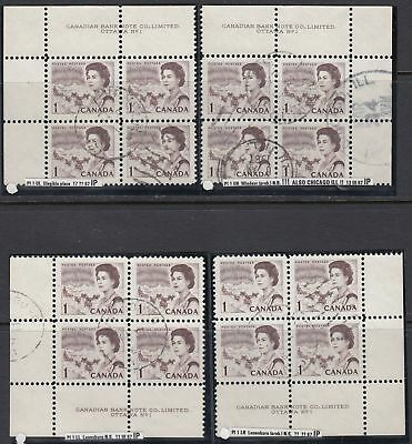 Canada Scott 454 MS Pl #1 Used - 1967-73 Centennial Issue