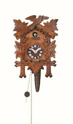 Trenkle Quarter call cuckoo clock with 1-day movement Five leaves, bird TU 619 n