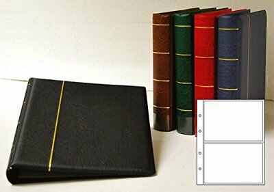 Prophila Postcard Album with 20 pockets for 40 Postcards
