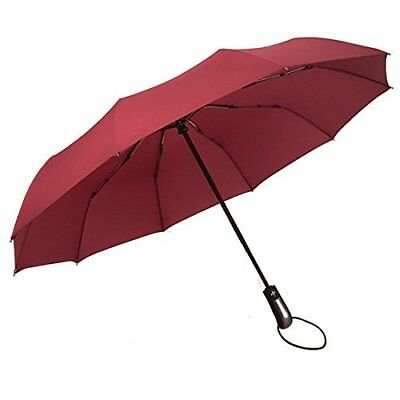 Compact Travel Umbrella Folding Windproof Men Women Auto Open Close Umbrella Lig