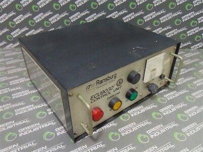 USED ITW Ransburg ECU9030 Paint Gun Control Unit / Power Supply