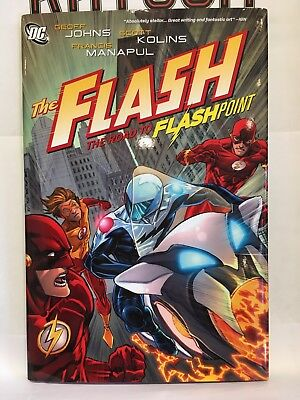 The Flash Road to Flashpoint Hardcover Graphic Novel DC Comics 9781401232795