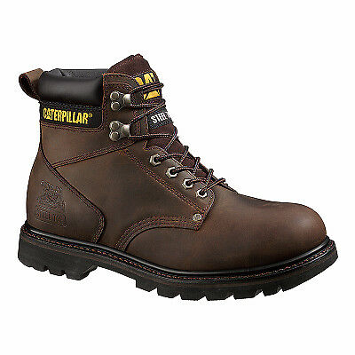 Men's Second Shift Steel-Toe Leather Boot, Wide, Size 7