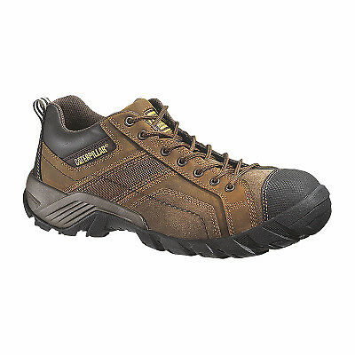 Men's Argon Safety Toe Leather Boot, Wide, Size 7.5