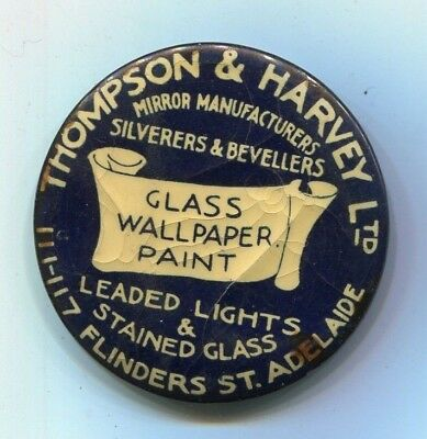 Mirror manufacturers  button day mirror badge  Thompso& harvey  Adelaide