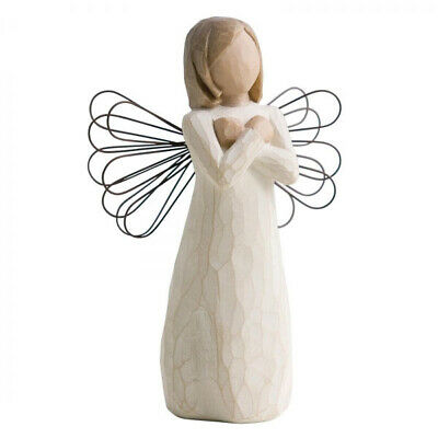 Willow Tree Sign For Love Angel Figurine 26110 New Authentic Susan Lordi