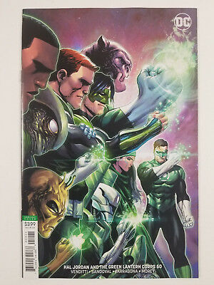 Hal Jordan and the Green Lantern Corps #50 B Kirkham Variant DC Comics 2018